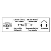 Аудиоадаптер 2x RCA -- 3,5 мм Hama
