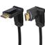 Apzeltīts rotējošs vads HDMI 1.4, Hama / 1,5m