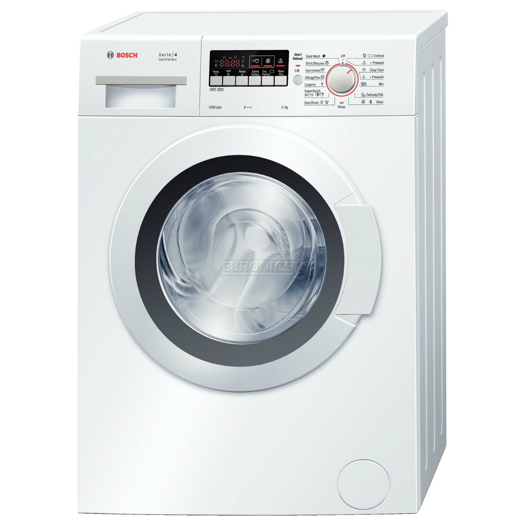 washing machine serie 4 varioperfect bosch 1000 rpm wlg20260by. Black Bedroom Furniture Sets. Home Design Ideas