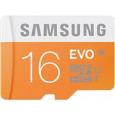 Atmiņas karte MicroSDHC Evo, Samsung / 16GB
