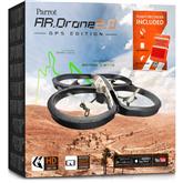 Radio vadāms lidaparāts - kvadrakopteris Parrot AR.Drone 2.0 GPS Edition