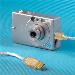 Cable Gold plated Mini USB Hama (0,75 m)