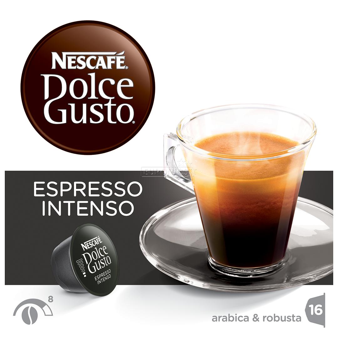 coffee capsules nescafe dolce gusto espresso intenso nestle 7613031526406. Black Bedroom Furniture Sets. Home Design Ideas