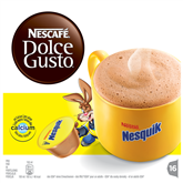 Hot chocolate capsules Nescafe Dolce Gusto Nesquik, Nestle