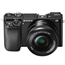 Digitālā fotokamera ILCE-6000 ar 16-50mm objektīvu, Sony