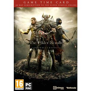 The Elder Scrolls Online 60 dienu laika karte