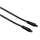 Apzeltīts optiskais audio kabelis, Hama / 1,5 m