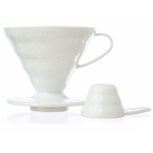 Plastmasas kafijas filtrs V60, Hario
