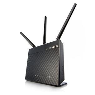 Bezvadu rūteris RT-AC68U, Asus / 1900 Mbps, Dual-Band, Gigabit
