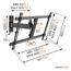 Sienas stiprinājums priekš 40-65 LED/LCD televizoriem, Vogels