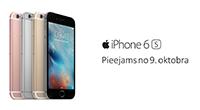 iPhone 6s pieejams no 9. oktobra!