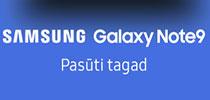Jaunais Samsung Galaxy Note9 ir klāt!