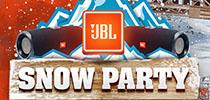 Pērc JBL un laimē 2 biļetes uz JBL Snow Party Francijas Alpos!