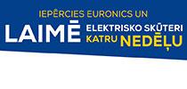 Iepērcies Euronics un laimē elektrisko skūteri katru nedēļu