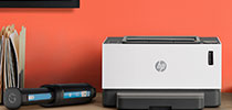 Jaunie HP Neverstop lāzerprinteri