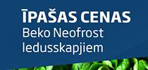Beko NeoFrost - svaigs un gards ēdiens ik dienu