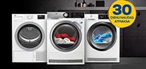 Izmēģiniet veļas žāvējamo mašīnu 30 dienas  – ja nepatiks, atmaksāsim naudu