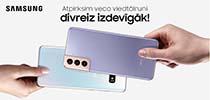 Pērc Samsung viedierīci ar atpirkumu un saņem dubultu bonusu!