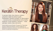 Jaunie Remington Keratin Therapy matu kopšanas produkti tagad pārdošanā arī Euronics veikalos